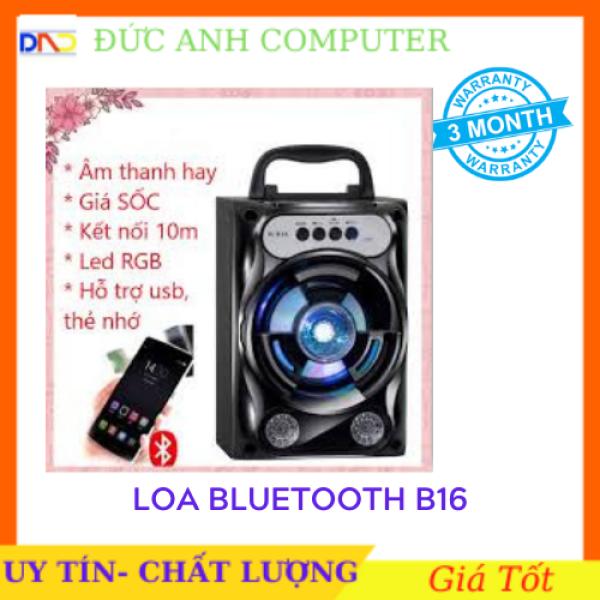 Bảng giá Loa Bluetooth B16 - âm thanh to hay chuẩn - thẻ TF USB FM AUX - full box cam kết sản phẩm đúng mô tả chất lượng đảm bảo Phong Vũ
