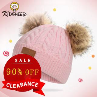 Kidsheep mũ len cho bé nón len cho bé Mũ len dệt kim kiểu dáng dễ thương dành cho bé từ 1 đến 11 tuổi tuổi phù hợp mang trong mùa đông