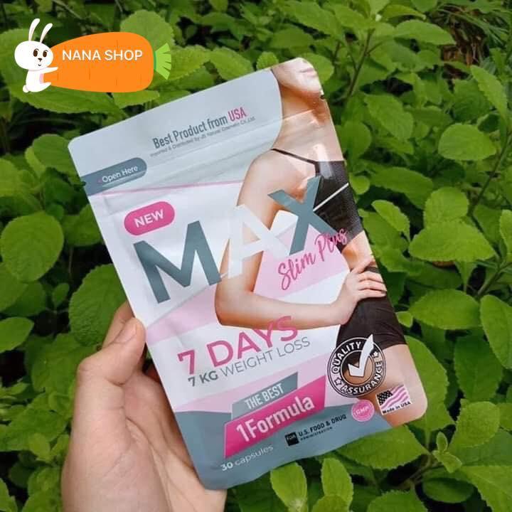 Giảm cân Thái Lan Max 7days dạng gói nhập khẩu