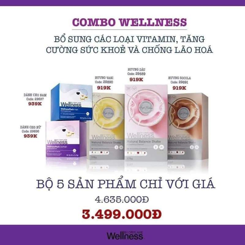 COMBO WELL NESS by Ori fla me