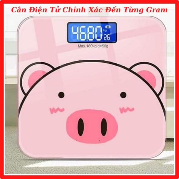 [𝐅𝐑𝐄𝐄 𝐒𝐇𝐈𝐏 + Quà] Cân Điện Tử Theo Dõi Sức Khỏe Gia Đình Bề Mặt Kính Cường Lực, Trọng Lượng Tối Đa 180kg, Cảm Biến 4 Điểm Giúp Cân Đo Chính Xác, Màn Hình Led - Khali Eco Shop KE5
