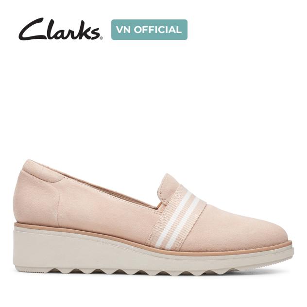 Giày Da lộn Nữ Clarks Sharon Bay giá rẻ