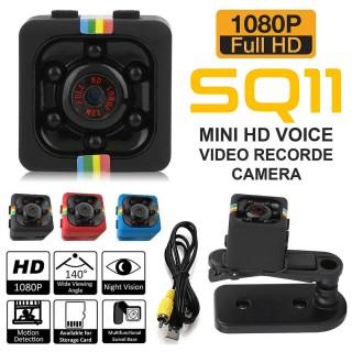 (XẢ KHO ) CAMERA MINI( GIÁ RẺ) CAMERA SQ11 Là Phiên Bản Cao Cấp Nhât Của Dòng SQ. Camera Hành Trình Siêu Nhỏ Sq11 Full Hd 1080p Hỗ Trợ Quay Ban Đêm với 6 Đèn Hồng Ngoại. Hình ảnh được quay sắc nét với độ phân giải Full HD (1080px) thumbnail