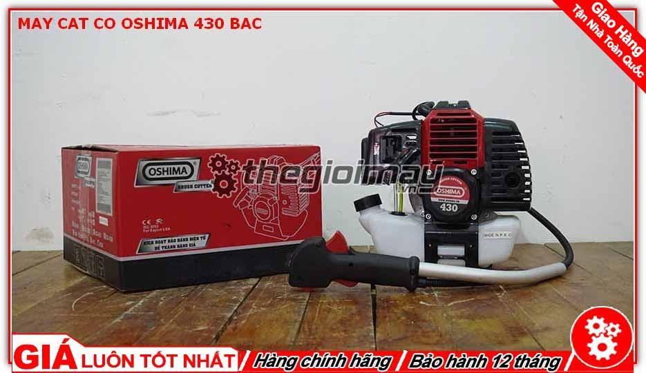 Máy cắt cỏ 2 thì Oshima 430 bạc