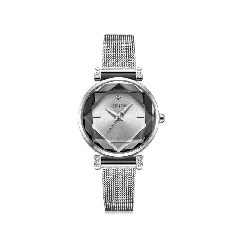 Đồng hồ nữ Julius Hàn Quốc JA-1214 dây thép