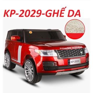 Ô tô xe điện đồ chơi mẫu thể thao cho bé RANGROVER KP-2029 2 ghế riêng biệt, 4 động cơ lớn, ắc qui 12V 7AH - BH 6 tháng thumbnail