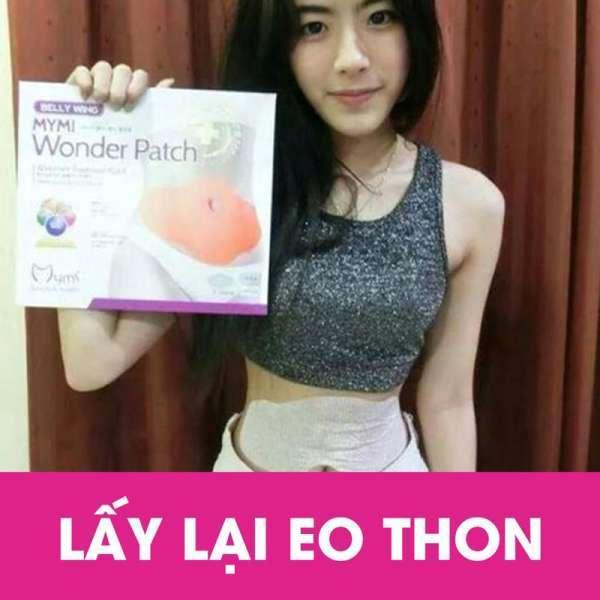 Combo Miếng dán tan mỡ bụng Hàn Quốc MyMi Wonder Patch Nguyên Gói 5 Miếng
