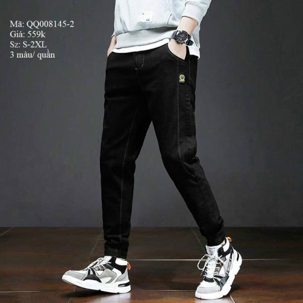 Quần jean nam jogger cao cấp vải jean co dãn hàng siêu cấp chuẩn shop PN FASHION kv1