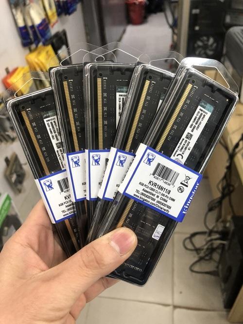 Ram Kingston 8GB DDR3-1600 mới