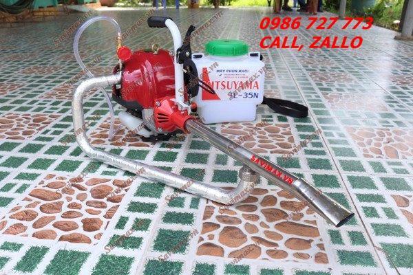 Máy phun khói diệt côn trùng Mitsuyama TL-35N, máy phun thuốc dạng khói