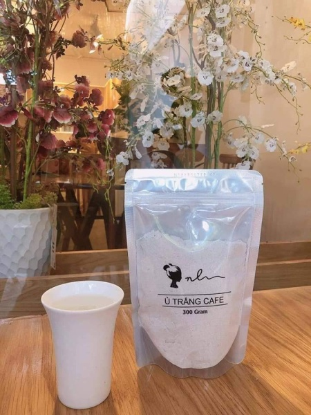 Ủ Trắng Cafe Tặng kèm cây cọ - dùng được cho body và face tốt nhất