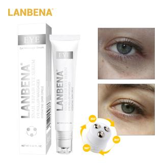 Serum LANBENA chiết xuất ốc sên xoá quầng thâm chống lão hoá dưỡng da quanh mắt - INTL thumbnail