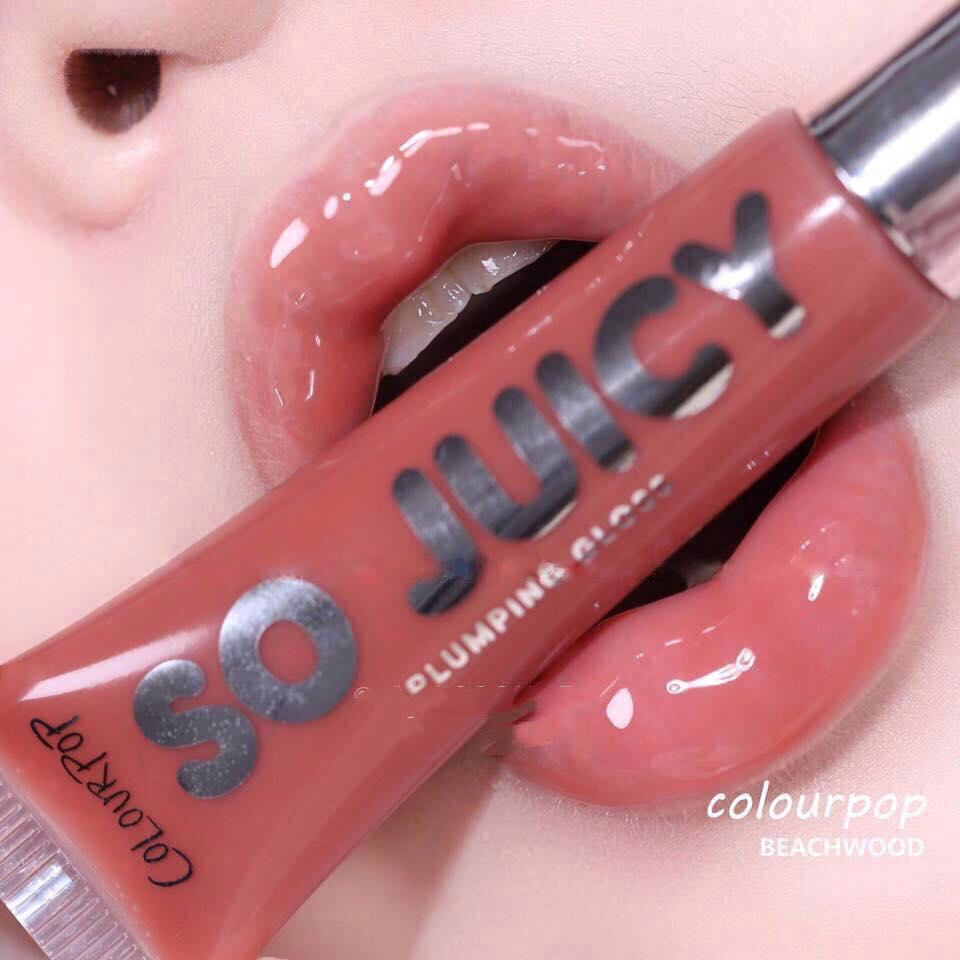 Son bóng Colourpop So Juicy Plumping Gloss #Beachwood tốt nhất