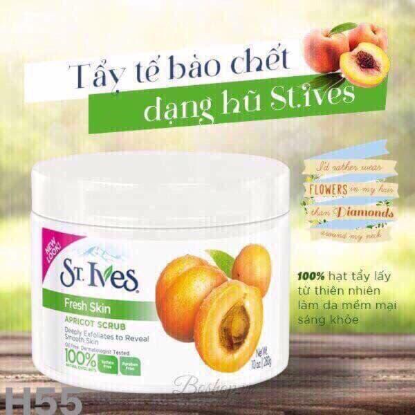 Tẩy tế bào chết toàn thân St Ives Apricot Scrub 283g - TinaVu Store