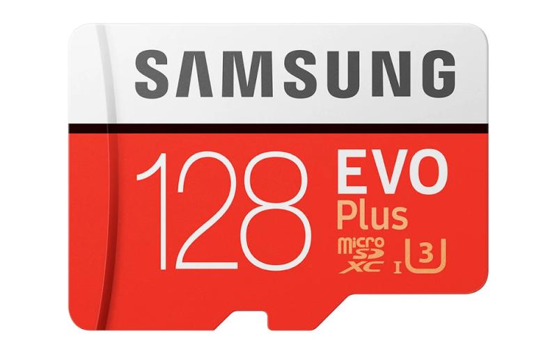 [New 2021]  Thẻ nhớ MicroSDXC Samsung Evo Plus 128GB UHS-I U3 4K - box Hoa (Đỏ) - Tốc độ đọc 100Mb/s - Tốc độ ghi 60Mb/s