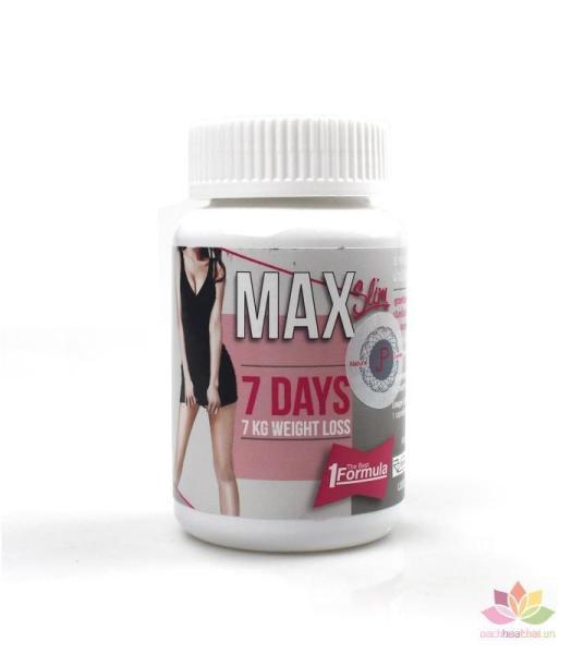 GIẢM CÂN MAX 7 DAY THÁI LAN cao cấp