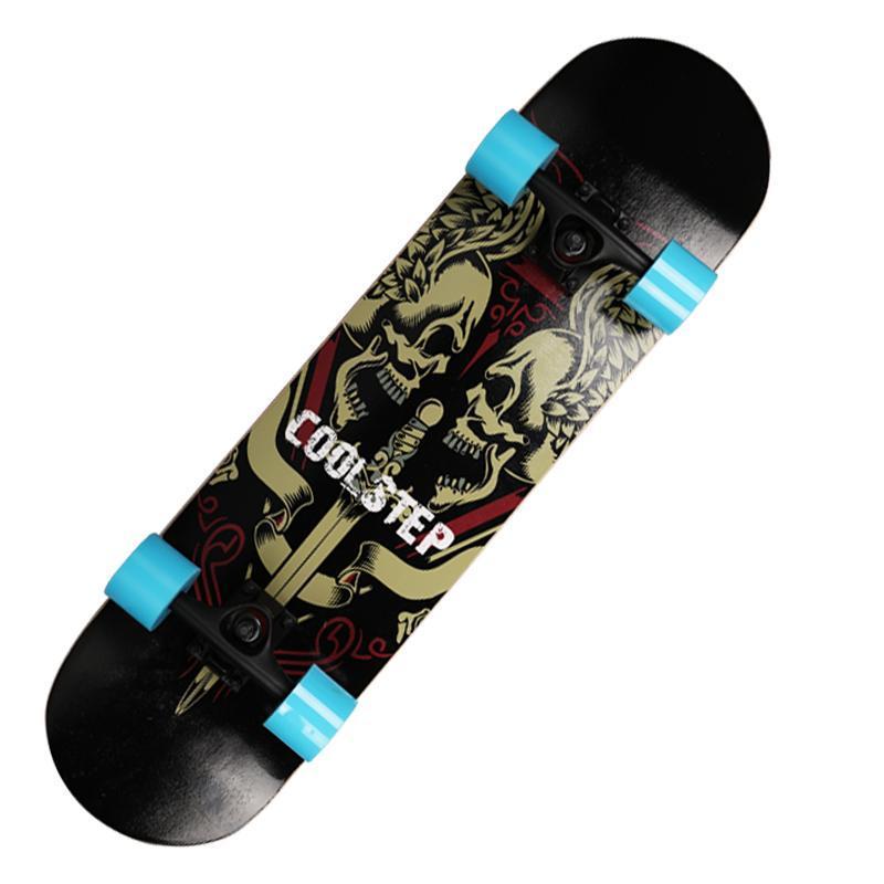 Ván trượt chân Brinken - Ván trượt nhám đen Skateboarding - VÁN NỌC ĐỘC BỌ CẠP