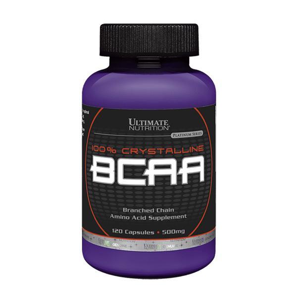 Viên Uống Tăng Sức Mạnh và Sức Bền 100% Crystalline BCAA - 120 viên
