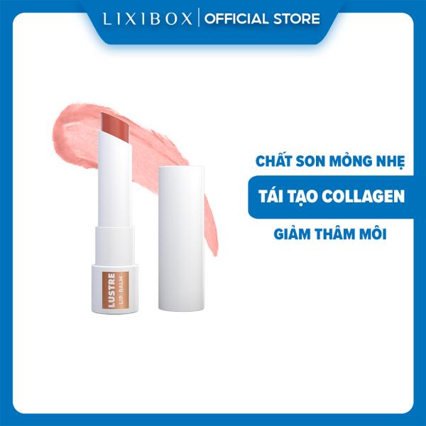 Son Dưỡng Có Màu Lustre Tinted Lip Balm Dahlia - Cam Đào - 2.9gr