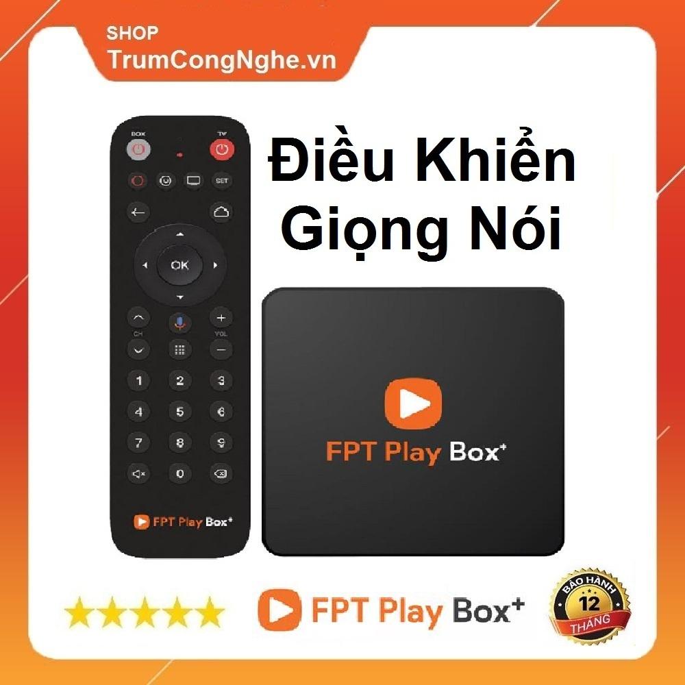 Deal Ưu Đãi FPT PLAY BOX + 2020 (Model S400) TẶNG KHIỂN GIỌNG NÓI VOICE - Chính Hãng FPT Phân Phối