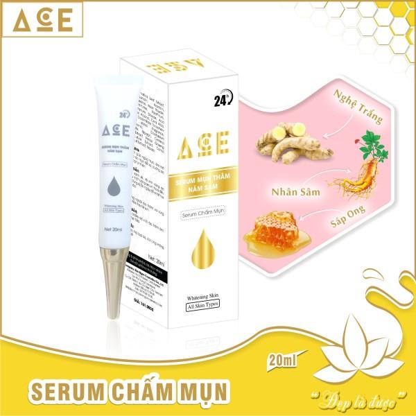 Serum ACE chấm mụn 24h làm mờ nám sạm trắng da khít chân lông 20ml giá rẻ