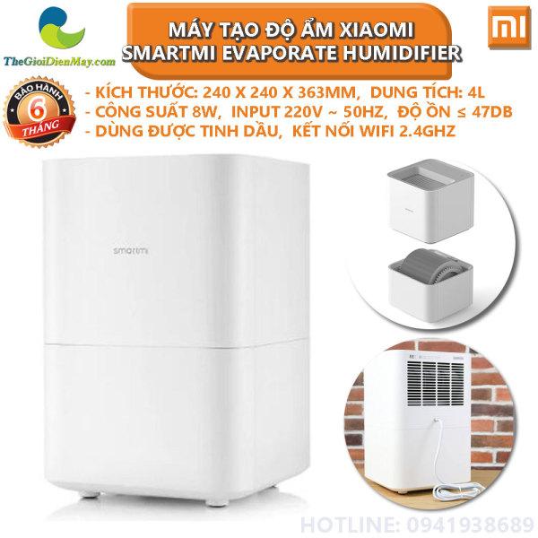 Máy tạo độ ẩm Xiaomi Smartmi Evaporate Humidifier CJXJSQ02ZM - Bảo hành 6 tháng - Shop Thế Giới Điện Máy