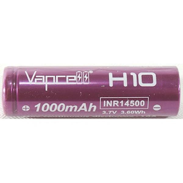 Bảng giá [P21] Pin sạc Vapcell H10 INR 14500 1000mah 10A