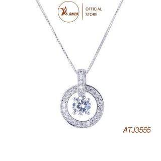 Dây chuyền mặt bạc đính đá pha lê thời trang cho nữ ANTA Jewelry - ATJ3555 thumbnail