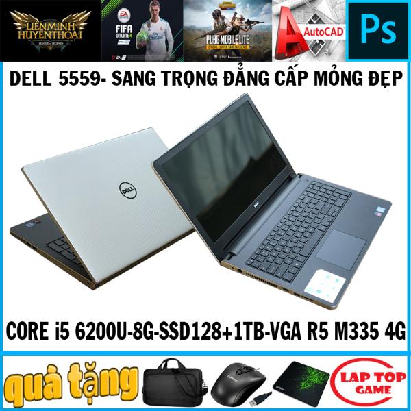 Bảng giá Dell N5559 siêu đẹp mạnh mẽ Core i5 6200U, Ram 8G, SSD128+HDD 1TB, VGA AMD Radeon R5 M335 4G , Màn 15.6IN Phong Vũ