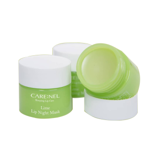 Mặt Nạ Ngủ Môi Dưỡng Ẩm Và Tẩy Tế Bào Chết Hương Chanh Carenel Lime Lip Sleeping Mask by Nacos.vn thumbnail
