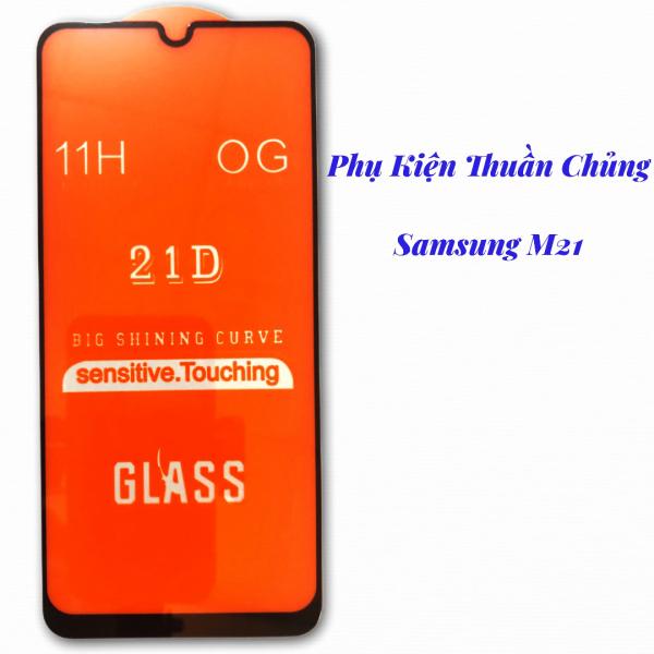 Kính Cường Lực Samsung Galaxy M21 Full Keo Màn Hình SIÊU BỀN, SIÊU CỨNG, ÔM SÁT MÁY