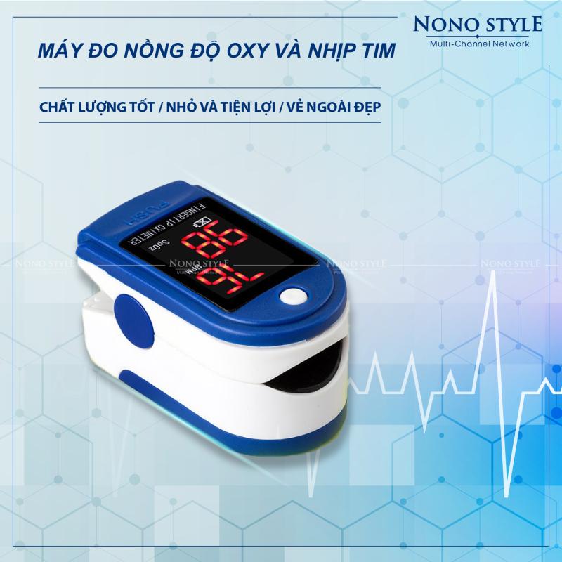 Máy đo nhịp tim đeo ngón tay đa năng, máy đo nồng độ oxy trong máu spo2 nội địa Trung Quốc, máy đo chỉ số sức khỏe nhập khẩu nguyên chiếc, BH 6 tháng bán chạy