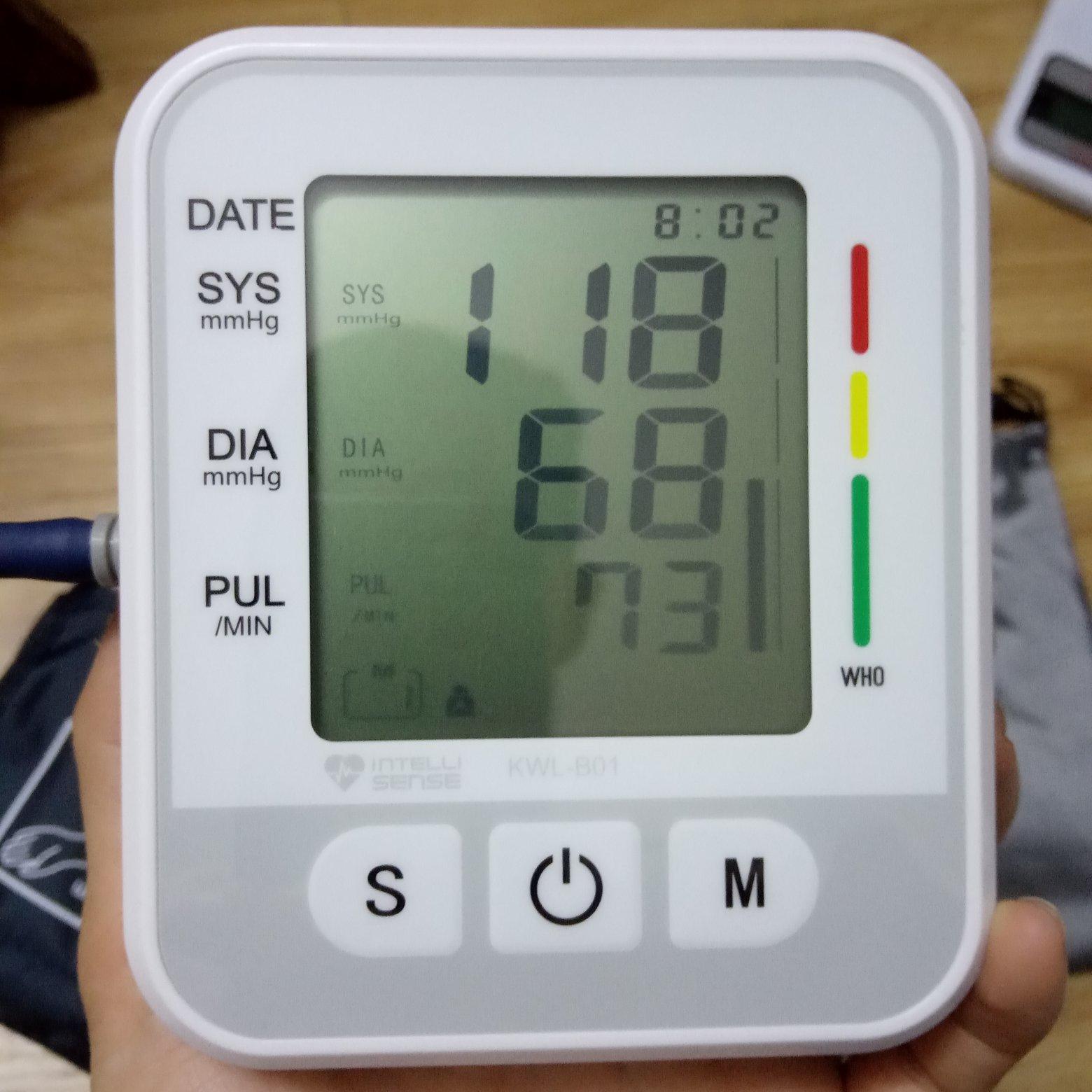 Nơi bán Máy đo huyết áp bắp tay Electronic phiên bản 2019, phát hiện rối loạn nhịp tim, công nghệ Intellisense độ chính xác cao, bộ nhớ 2 người lưu 198 kết quả
