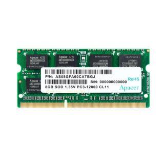 Ram laptop 8GB DDR3L bus 1600 Micron - Crucial - Kingston - Apacer PC3L-12800s thumbnail