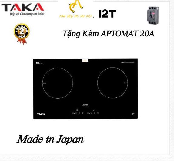 Bếp Từ Đôi Cao Cấp Made In Japan TAKA I2T