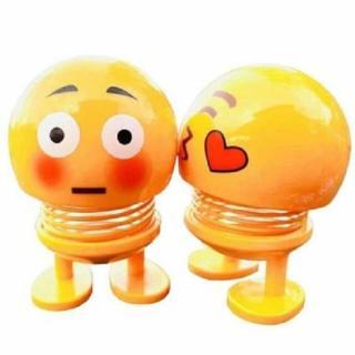 CMOBO 6 Thú Nhún Emoji con lắc lò xo con nhún 2