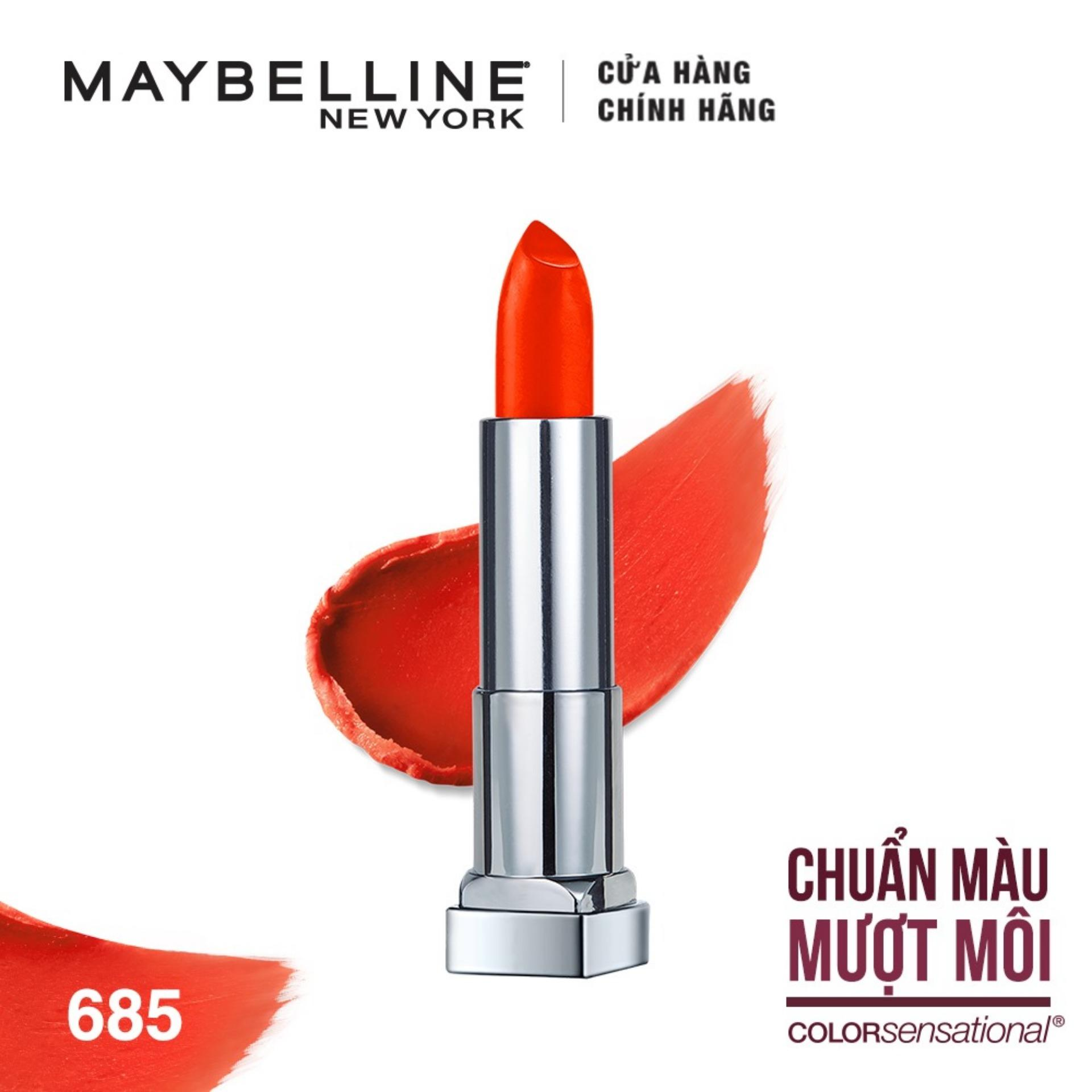 Son lì mịn môi Maybelline New York Color Sensational The Creamy Mattes 3.9g