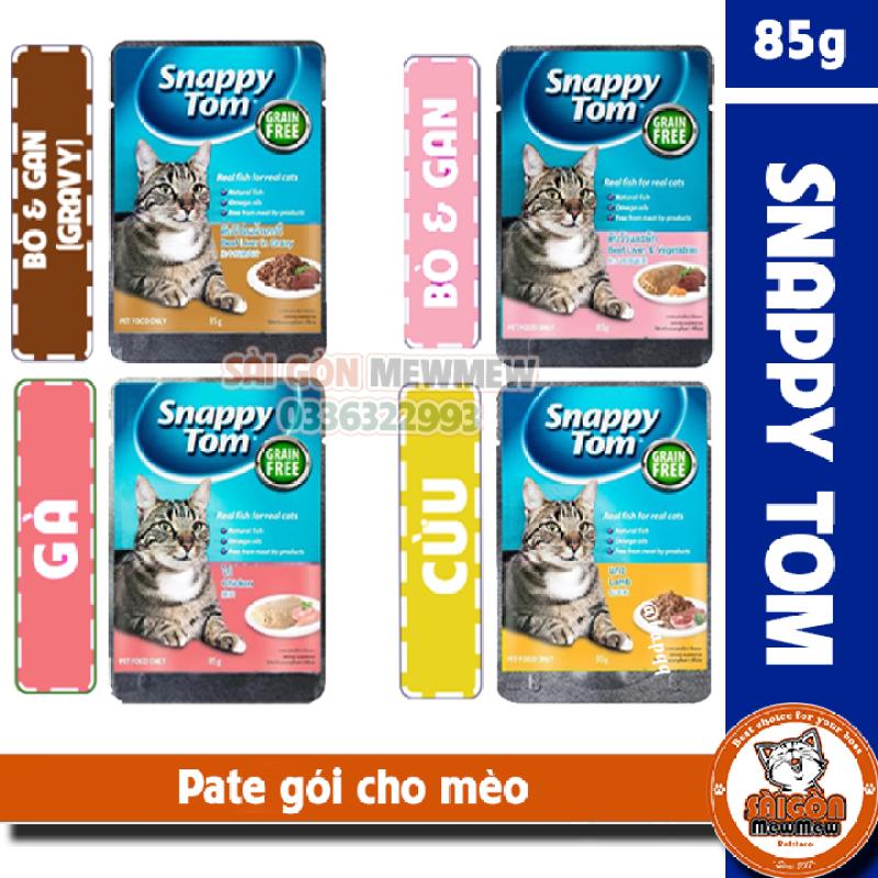 SNAPPY TOM PATE gói cho mèo 85gr
