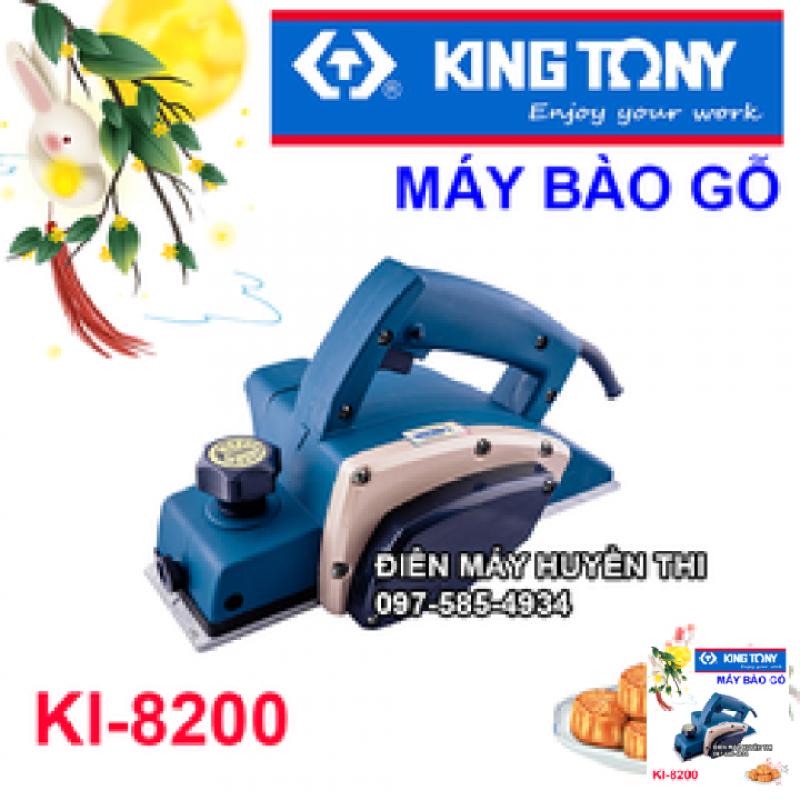 máy bào gỗ cầm tay kingtony KI-8200