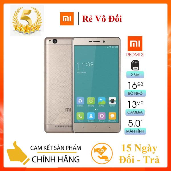[Rẻ Vô Đối] Điện Thoại Smartphone Xiaomi Redmi 3 2GB/16GB - Hàng Chính Hãng