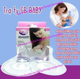 Hộp 02 cái trợ ti trợ ty Mẹ hỗ trợ cho bé bú không BPA GB Baby thumbnail
