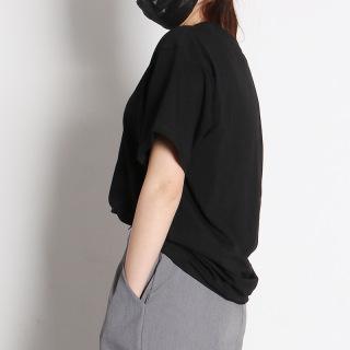 Áo thun nữ form rộng tay lở Unisex CERA-Y vải thun co dãn nhe mặt mát CRA012 thumbnail