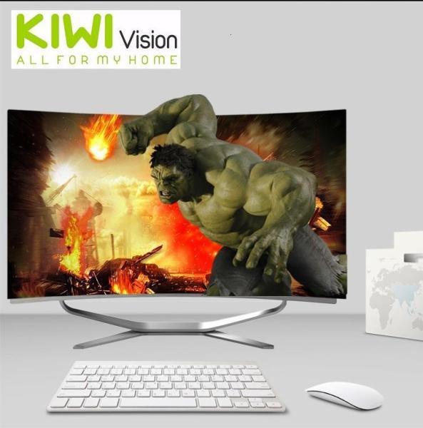 Bảng giá Bộ máy tính để bàn All in One Kiwivision - Tất cả trong 1 màn hình cong 24  inch full view, CPU Intel® Core™ i3-3220 (3.3 Ghz, 3MB, x2, HT x4) , Ram 4GB DDR3 1600Mhz, SSD : 250G (3-6Gbs/s) - Bộ Kiwivision Office 24H6155 Plus Phong Vũ