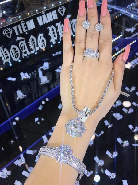 [ Bộ Trang Sức Nữ Bạch Kim Dùng Đi Tiệc HOT - Bền Màu, Cam Kết Không Đen ] Thiết Kế Sang Trọng Phù Hợp Với Mọi Lứa Tuổi - Givishop - B4170523, đồ trang sức bằng vàng đẹp, trang sức bạc đẹp giá rẻ, trang suc gia re
