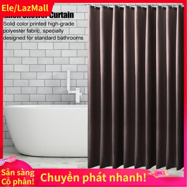 【Có sẵn hàng】Móc Treo Rèm Phòng Tắm Polyester Không Thấm Nước, Chống Nấm Mốc