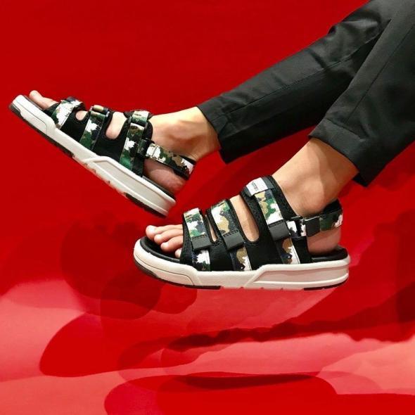 Giày Sandal Nam Vento Đế Siêu Nhẹ Cao 2.5cm NV1001 XL giá rẻ