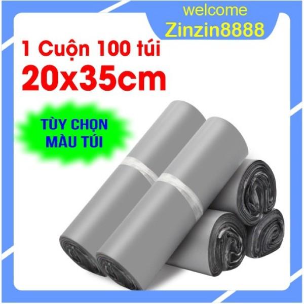 [20x35cm] 100 Túi Gói Hàng, Đóng Hàng, Niêm Phong, Bao Bì Gói Hàng Tự Dính