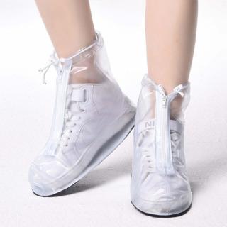 Giày đi mưa dáng bệt không ngấm nước thông minh chống trượt siêu bền 4
