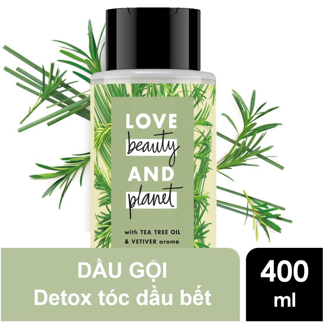 Dầu gội detox tóc Love Beauty And Planet Radical Refresher 400ml