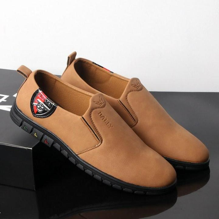 Giày Lười Nam Màu Da Bò đế đen Chất Lượng Tốt, Thiết Kế Thời Trang SG429 Saosaigon  Giày Lười  Giày Mọi Bất Ngờ Giảm Giá